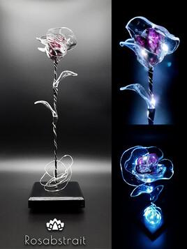 Sweet rose éternelle - Rose violette