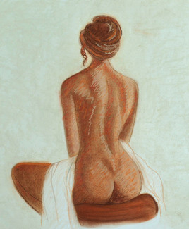 Femme assise