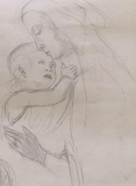 D116 Vierge à l'enfant