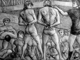 yong men cuffed