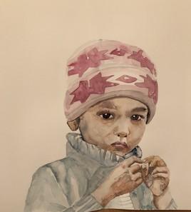 Petit enfant népalais