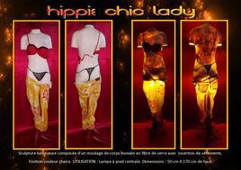 """Hippie chic lady"""