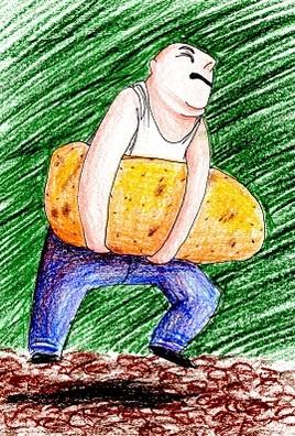 Porter sa patate