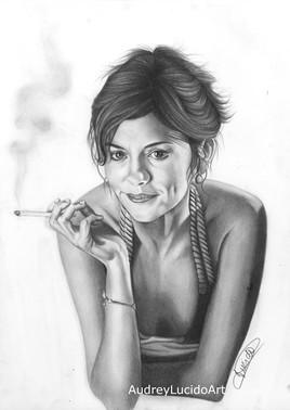 Portrait d'Audrey Tautou