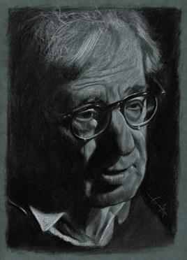 Dessin Woody Allen