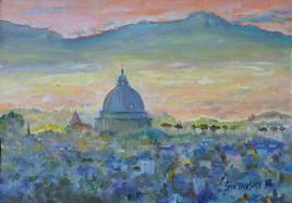 Crepuscule à San Pietro