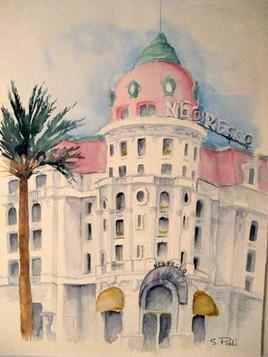 Le  Negresco à Nice