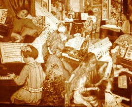 la leçon de piano2 Renoir