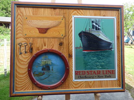 intérieur d une cabine de bateau