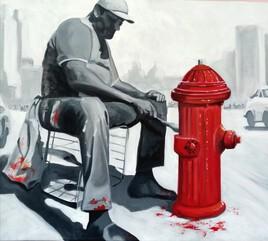 The painter (détail)