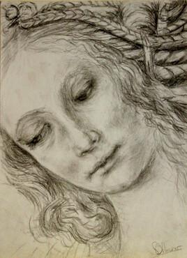 étude de Léonard de Vinci