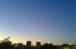 La ville se lève.