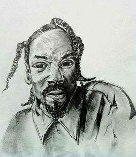 Snoop caricature