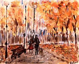 Un dimanche d'automne amoureux