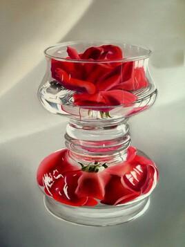 Coupe à la rose