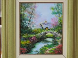 Sous le pont coule un ruisseau
