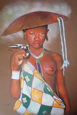 Jeune éthiopienne