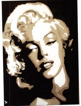 "Portrait de Star "" Norma Jeane Mortenson """