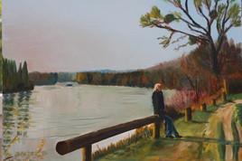 Détente sur les bords de Seine