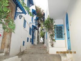Sidi Bou Saïd, Tunisie.