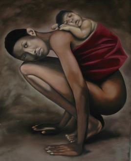 Black mother...