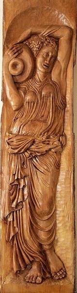 Etude d'atelier en hommage en Jean Goujon (16è siècle)