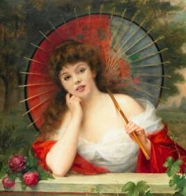 l'ombrelle fait de l'ombre à la belle Marilyn.. :)