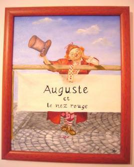 auguste et le nez rouge
