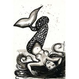 Sirène allongée