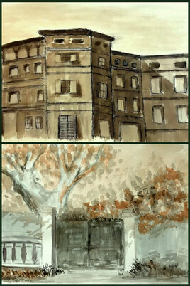 Les vieux quartiers.