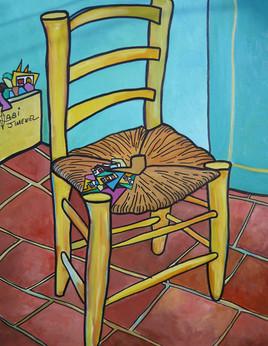 A vendre chaise de Van gogh
