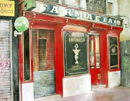 La vieja farmacia-Madrid