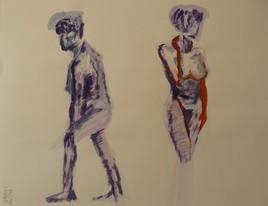 femmes 2 poses