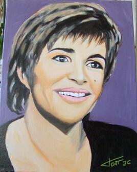 Portrait de Véronique  Jannot