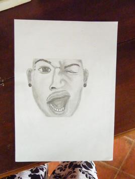 Portrait caché