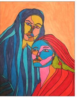 Marie et Marie-Madeleine