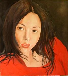 portrait of Mikiko
