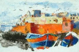 une vue d'Essaouira