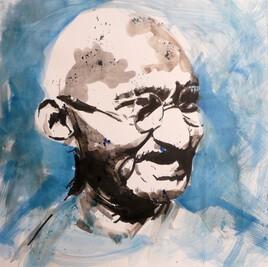 Un portrait de Gandhi (2)