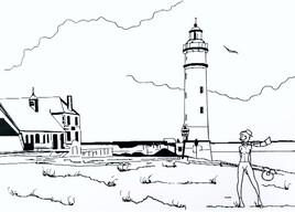 Normandie Chill Honfleur - le phare