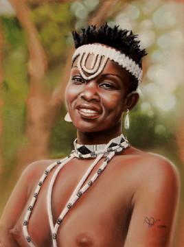 Danseuse du Botswana