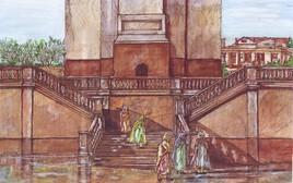 Escaliers de la mosquée Sidi Ali Dib de Philippeville (Skikda)