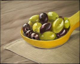 Les olives.