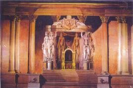 Trône de Napoléon - Sénat paris 1998