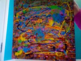 une explosion de couleur