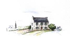 OUESSANT - Maison de vacances du Général WEYGAND