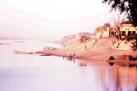 Le Niger. Mopti. Burkina faso.