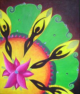 Fleur et ombres