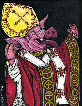 Iconoclasme (L'évêque Cochon)