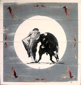 peinture-corrida-burladero 014